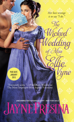 Cover of Fresina's The Wicked Wedding of Ellie Vyne